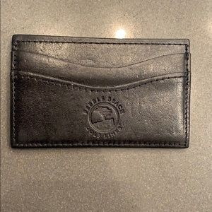 Pebble Beach Leather Card Wallet